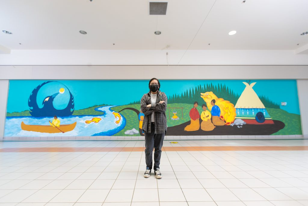 Strathallen Mall Art